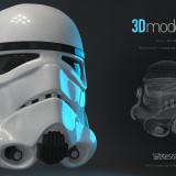 Stormtrooper helmet /STARWARS/