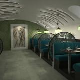 Étterem belső tervezés